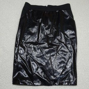 H&M Black Straight / Pencil Skirt Size Small
